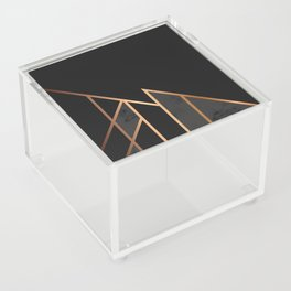 Black & Gold 035 Acrylic Box
