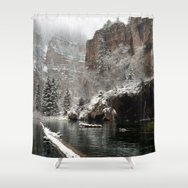 Hanging Lake, White River National Forest CO Shower Curtain