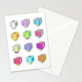 Cubeheds ( available for t-shirts ) Stationery Cards