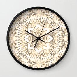 Luxury Mandala New III Wall Clock