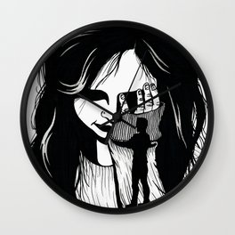 Your Mistake My Suffering Wall Clock
