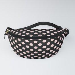 Minimalistic polka dots pattern, vintage pink Fanny Pack