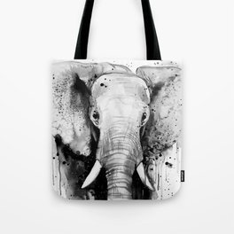 Elephant Head Tote Bag