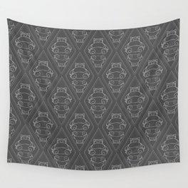 Snorlax Pattern Wall Tapestry