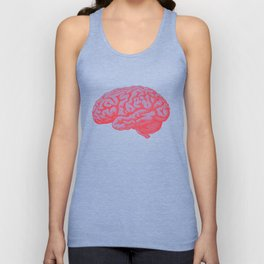 Brain Unisex Tank Top