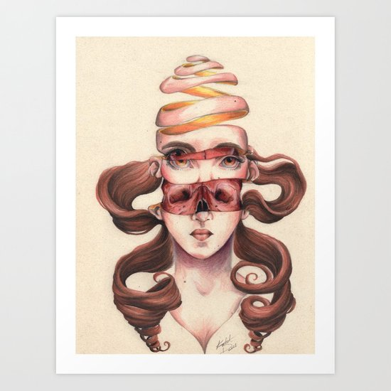 De-Fruit Art Print