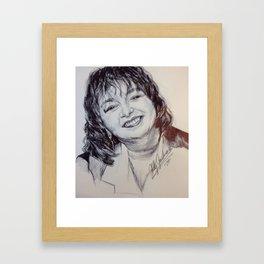 ROSEANNE BARR Framed Art Print