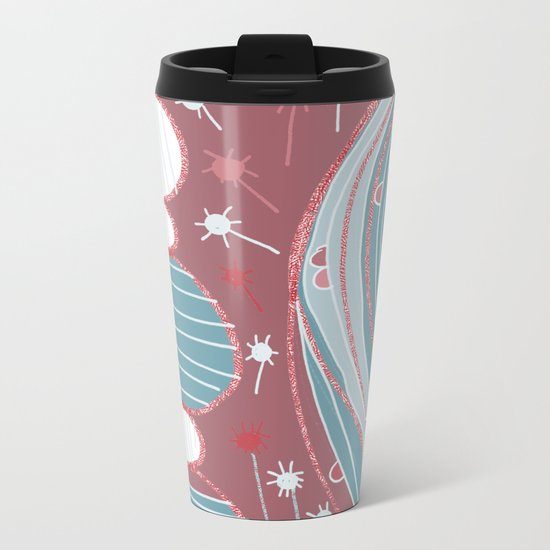 A country walk Metal Travel Mug