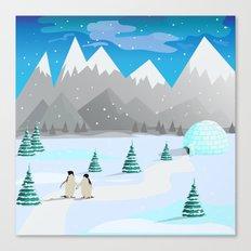 Christmas #Winter Canvas Print