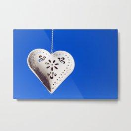 Heart shaped box Metal Print