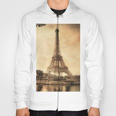 Vintage Eiffel Tower 2 Hoody