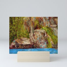 Chimney Rock Mini Art Print