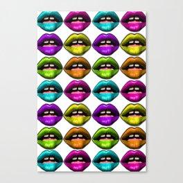 Lips Canvas Print