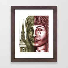 The Church 1 Framed Art Print