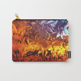 Decorative Abstract Sunset Design Carry-All Pouch
