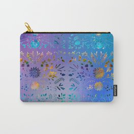 Veronica Floral Color Mash Carry-All Pouch