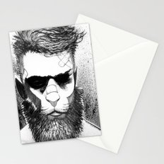 Lion man Stationery Cards