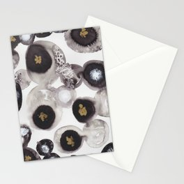 """""""Flowing Circles"""" - Karla Leigh Wood Stationery Cards"""