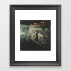 London Graffiti Framed Art Print