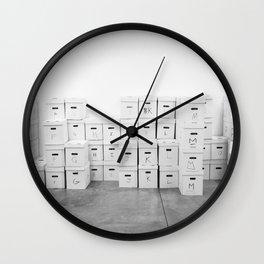 Afrika Bambaataa's Vinyl Collection Wall Clock