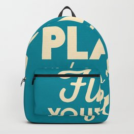 Be happy, wanderlust, find your happy place, travel, explore, go on an adventure, world is my home Backpack