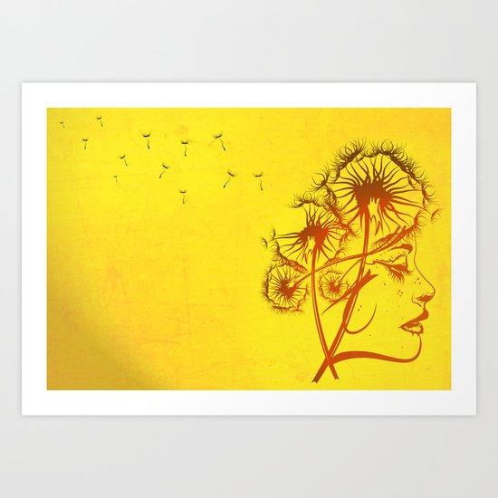 Fleeting Thoughts Art Print