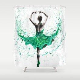 Emerald City Dancer Shower Curtain