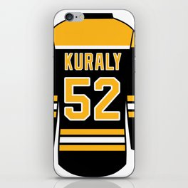 Sean Kuraly Jersey iPhone Skin