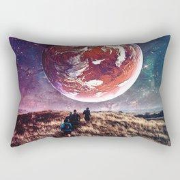 Towards New Worlds Rectangular Pillow