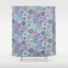 Thrifted Linen Lavender Shower Curtain