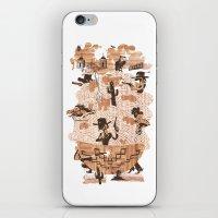 western iPhone & iPod Skins featuring Spaghetti Western by Elan Harris