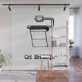 OH Sheet!! Wall Mural