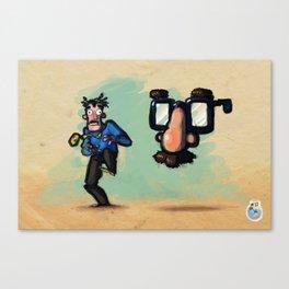 Use Verb on Noun #10: Zak McKracken and the Alien Mindbenders Canvas Print
