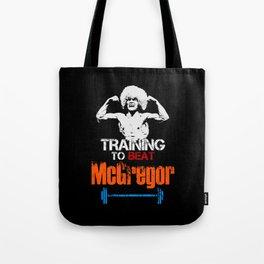 Khabib Nurmagomedov - Training to beat McGregor Tote Bag
