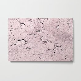 Old Stone Wall - textured I Metal Print