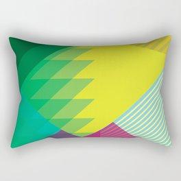 geometric_summer Rectangular Pillow