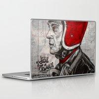 steve mcqueen Laptop & iPad Skins featuring McQueen by EL GRAN TOCAYO
