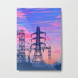 Evening Hour Metal Print