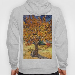 The Mulberry Tree by Vincent van Gogh Hoody