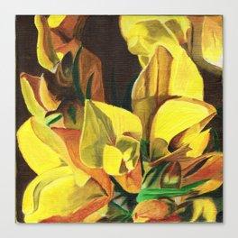 Golden Gorse Flowers Canvas Print