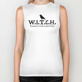 W.I.T.CH. Woman In Total Control Biker Tank