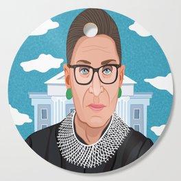 Ruth Bader Ginsburg Notorious RBG Cutting Board