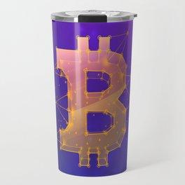BITCOIN Galaxy Travel Mug