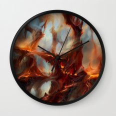 Bloodstained Mire Wall Clock