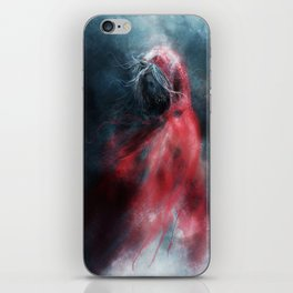 Little Red Wraith iPhone Skin