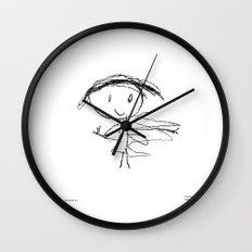 [happy mommy] - nadya 4 yr Wall Clock