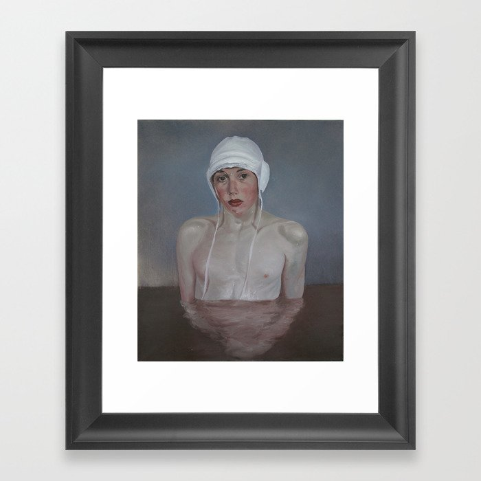 innocence  Framed Art Print