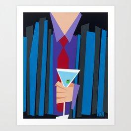 Suite and Tie Art Print