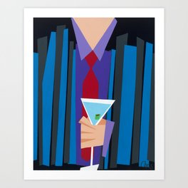 Suite and Tie Art Print