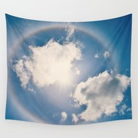 halo Wall Tapestries featuring Halo by RDelean